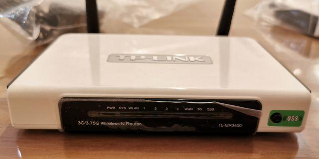 TP-Link wireless N router TL-MR3420