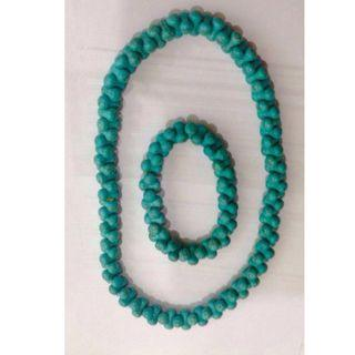 Authentic Torquoise Necklace and Bracelet