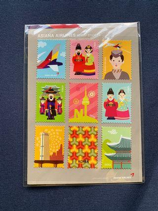 🚚 (NEW) Korea stamp (Airsiana airlines)