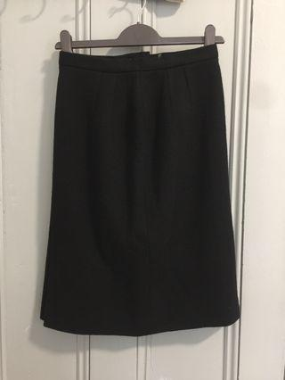 Vintage Japanese wool skirt