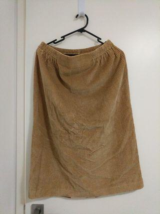 Vintage cords skirt