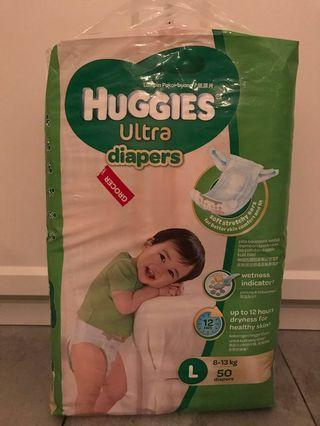 Huggies diapers L