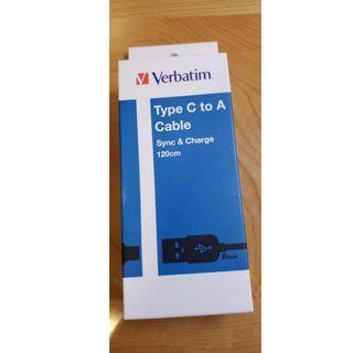 Verbatim Type C to A  CAbLE