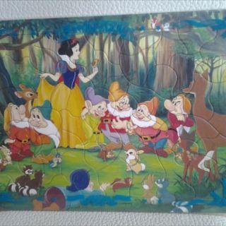 DISNEY COLOURFUL JIGSAW PUZZLES FOR YOUR LITTLE ONES
