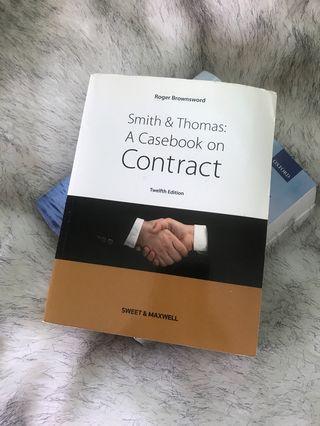 Smith & Thomas A Casebook on Contract