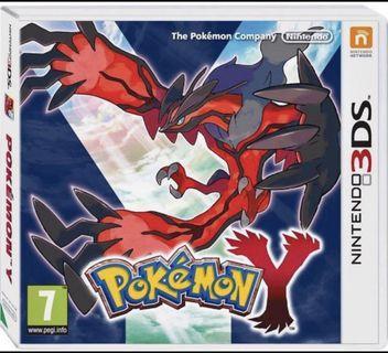 3DS Nintendo Pokemon Y