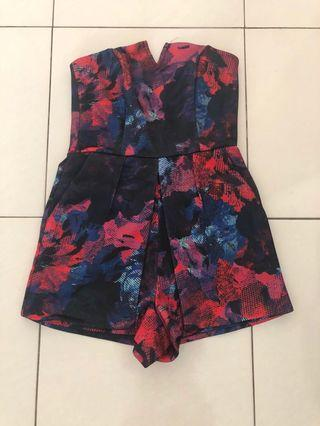 Brand New mds Printed Romper