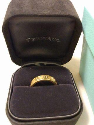 Tiffany&Co羅馬數字戒指
