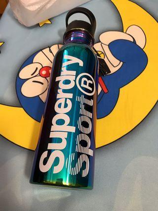 SuperDry全新不鏽鋼保溫運動水樽