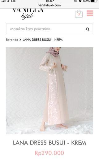 Lana dress by vanilla hijab