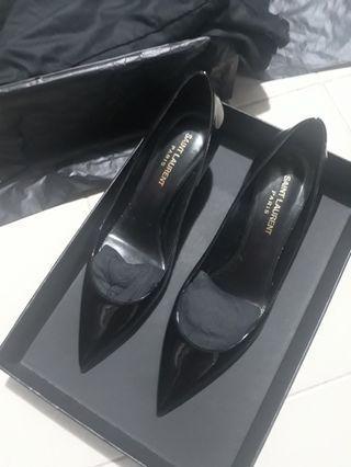 YSL Charlotte black pumps