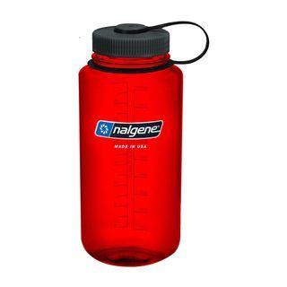 BN Red/Black Nalgene 1L Water Bottle
