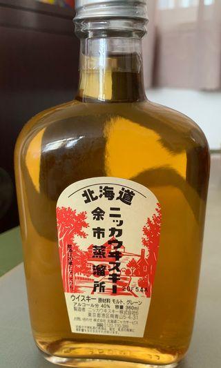 北海道余市蒸溜所威士忌360ml