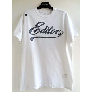 意大利品牌THE EDITOR print tee (givenchy,gucci,neighborhood)