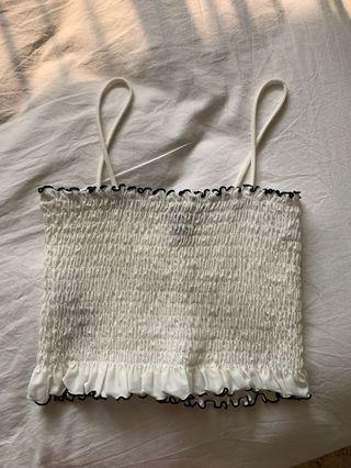 FOREVER 21 TUBE TOP CROP TOP