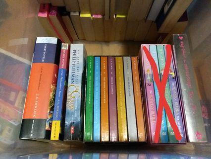 (6月9日前出清, 可議價) 二手書/dvd,包括: 中英文小說/兒童故事書/實用書/電影等