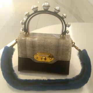 Dolce & Gabbana(D&G)Welcome 皮革單肩包 Welcome Leather Shoulder Bag