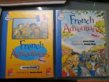 Pearson Longman French Adventure Part 1 & Part 2
