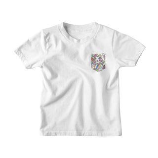 🚚 Luxury 100% Cotton T Shirt, Pretend Pocket Print, Short Sleeve Tee @ Wholesale Price