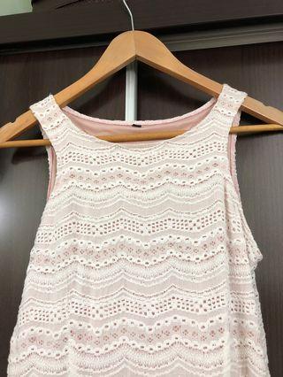 🚚 Pink sweet simple dress