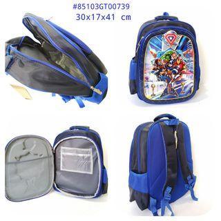 🚚 Kids School Backpack