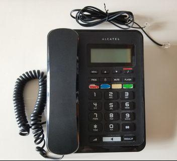 ALCATEL Wired caller ID telephone
