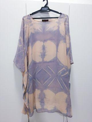 Batik Style Kaftan Top