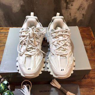 White track sneakers