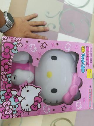 Hello Kitty小夜燈(三段燈光)