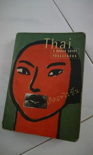 🚚 Thai phrasebook (a rough guide)