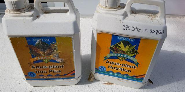 plant  nutrients fertiliser for planted aquarium