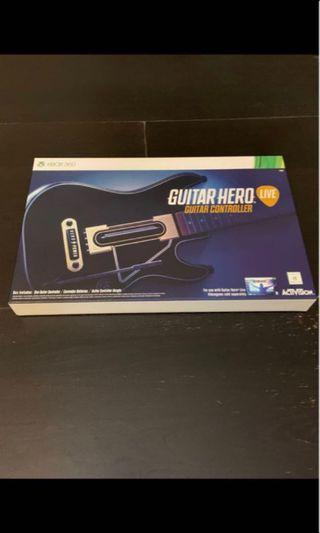 🚚 Brand new Xbox 360 guitar hero. Guitar only.