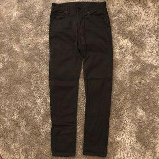 Celana Chino Uniqlo - Grey Size 28