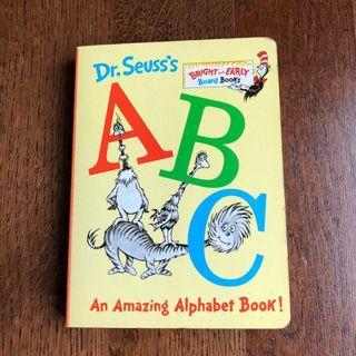 🚚 Dr Seuss's ABC Amazing Alphabet Board book