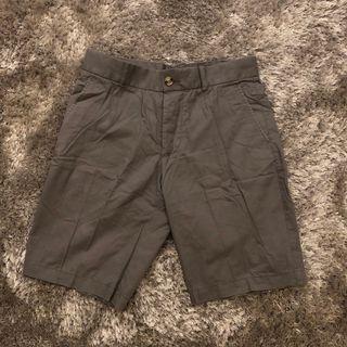 Celana Pendek Chino H&M - Grey Size 30