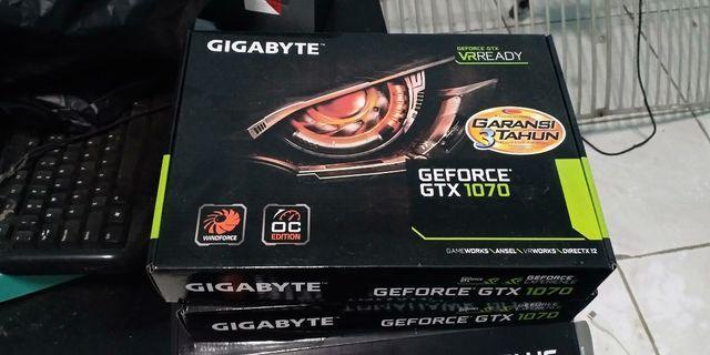 Vga 1070 8gb gigabyte