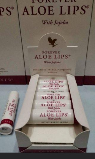 Forever lips 蘆薈潤唇膏