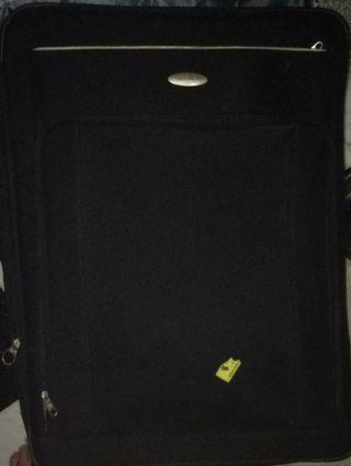 koper samsonite 29 inch hitam 4 roda