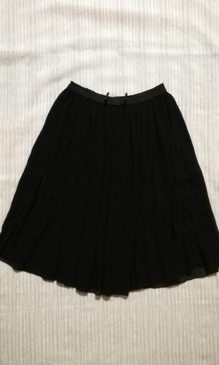 Black Flowy Skirt
