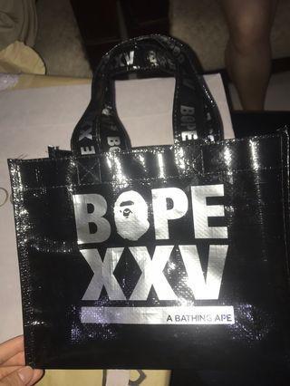 Plastic Bag Bape XXV Authentic