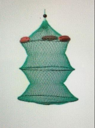 Collapsible Floating Net / Bait Storage / Catch Storage