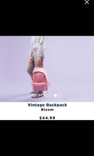 New with tags parkland pink backpack
