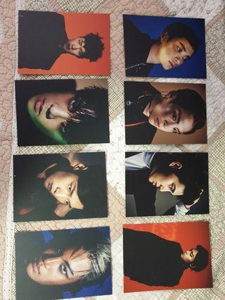 EXO Vol. 3 EX'ACT postcard-Monster Version