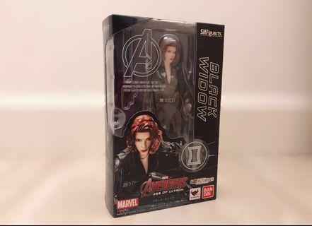 SHF Black Widow AOU 全新 黑寡婦 Banbai S.H.Figuarts Marvel Avengers Ago of Ultron 復仇者聯盟 奧創紀元