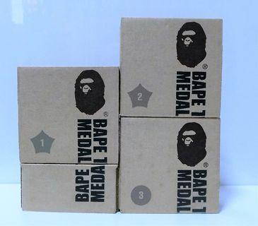APE 猿人絕版襟章