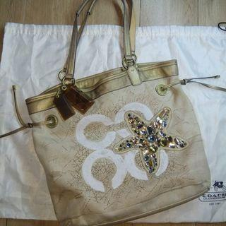 AUTHENTIC COACH STARFISH BAG  ( TAS PRELOVED ) #Joinjuli