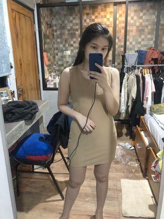 Dress Coklat