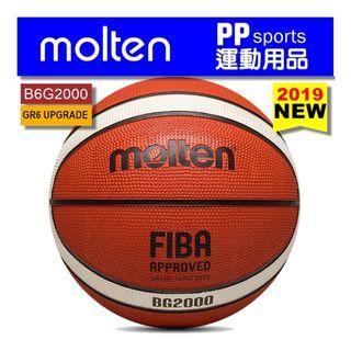 【PP SPORTS】Molten Size 6 Basketball B6G2000 Premium Rubber Basketball