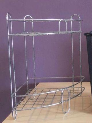 🚚 Corner rack stainless steel