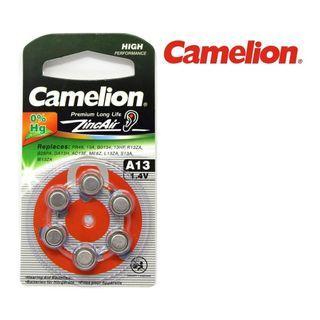 {MPower} 德國名廠 Camelion A13 1.4V Zinc Air Hearing Aid Battery 助聽器 電池 鈕扣電池 ( PR48 ) - 原裝行貨